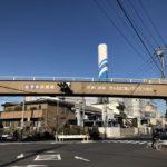 川口市あずま歩道橋「せまい日本 そんなに急いでどこへ行く」